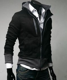 dark and light gray clothing | ... , suede fashion trends jackets coats (Black, dark gray, light gray