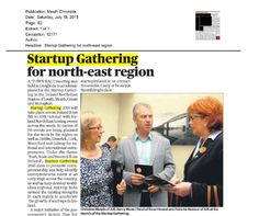 Ireland North East: Meath Chronicle- Town Hall meeting in Drogheda to accelerate plans for Startups.