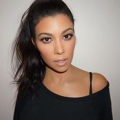 Post-bday glam @kourtneykardash, makeup @makeupbymario, hair @justinemarjan