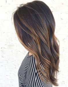 Caramel balayage hair color ideas for spring 2018 A technique for highlighting