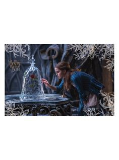 Disney Beauty And The Beast Belle & Rose Poster | Hot Topic