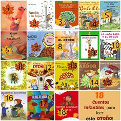 ¡18 cuentos infantiles para leer este Otoño! -CatacricatacraC Cuentos Infantiles Numicon, Au Pair, Grade 1, Playing Cards, Seasons, Halloween, Reading, Fall, Kids