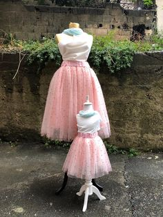 tulle skirt mommy and me outfits mothers day gift matching mother daughter outfits pink tulle pearl skirt tutu skirt mommy and me Mother Daughter Matching Outfits, Mommy And Me Outfits, Family Outfits, Festival Wear, Festival Outfits, Tutu Rock, Skirts For Kids, Pink Tulle, Tulle Tutu