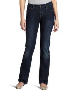 Levi's Women's Demi Curve ID Straight Leg Jean, Worn Rigid, 8 M