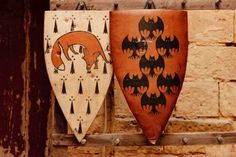 I don't actually care for these particular shields I just think that they are awesomely pretty from game of thrones.