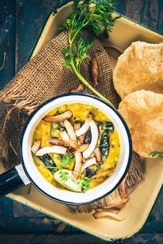 Bengali Style Cholar Dal is a bengali dish prepared from Chana Dal, ghee, coconut and other spices and is best paired with luchi. (Sub coconut oil in place of ghee. Bangladeshi Food, Bengali Food, Bangladeshi Recipes, Curry Recipes, Vegetarian Recipes, Healthy Recipes, Dahl Recipe, Indian Side Dishes, Veg Dishes