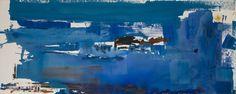 """Frankenthaler - """"Blue Reach,"""" 1974"""