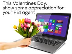 LoL.  I always blow him/her kisses before I go to bed since I have no one else to give kisses to.  He's always there for me xDD  HAPPY VALENTINES DAY MISTER/MS (?) FBI AGENNNTT <3