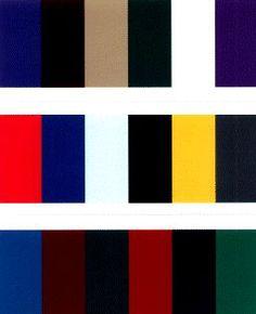 Zuivere/verzadigde kleuren zijn ongemengde kleuren. De primaire en secundaire kleuren worden zuiver/verzadigd genoemd. Een onzuivere/onverzadigde kleur is een kleur die gemengd is met wit, zwart of grijs(niet kleuren). Ook zijn kleuren die uit meer dan 2 kleuren gemengd zijn onzuiver. Deze kleuren weerkaatsen minder licht en zijn daardoor minder fel/knallend. Er bestaan meer en minder zuivere/verzadigde kleuren van één kleur. Zo is blauw meer zuiver/verzadigd als donkerblauw Elements Of Art, Bar Chart, Company Logo, Color, Theory, Style, Colors, Art Elements, Swag