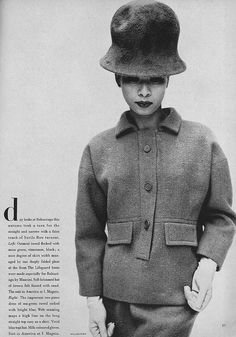 1962-63 - Balenciaga suit Vogue October
