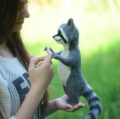 Massanfertigung Waschbär Raccoon Koch Waschbär von SvetlanaToys