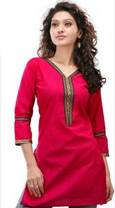 http://www.bharatmoms.com/uploads/Image/red%20colour%20stylish%20cotton%20kurthi%20desigs%20for%20girls%20and%20ladies%202013%20collections.jpg