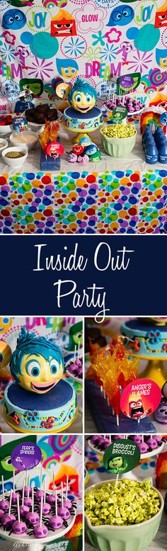 Everyone loves disney's Inside Out Movie, and now you can throw the perfect party or family movie night #InsideOutMovieNight [ad]