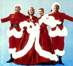 Bing Crosby, Rosemary Clooney, Vera-Ellen, Danny Kaye. White Christmas, 1954