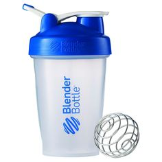 20-oz. BlenderBottle Classic (w/Loop) - Blue Protein Shaker