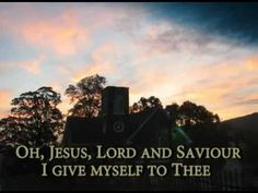 Living for Jesus...this is one of my favorite hymns.