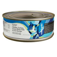 Solid Gold Gourmet - Chicken, Turkey, White Fish and Liver - 24 x 5.5 oz -- Continue to the product at the image link.