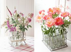 table centerpiece ideas for weddings from Weddings By Lilly