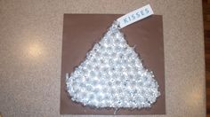 The Hershey Kiss  My son's 100th day of school project.