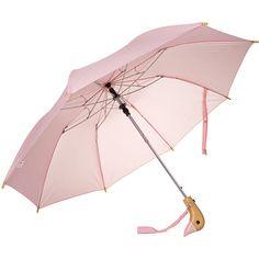 Duckhead Auto Open Umbrella ($24) ❤ liked on Polyvore featuring accessories, umbrellas, wood umbrellas and wooden umbrella