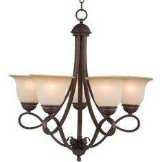 Bronze Chandelier for dining room.