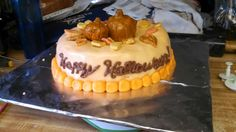 Halloween/autumn cake