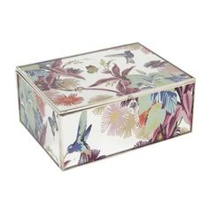 Butterfly Home By Matthew Williamson Designer Green Floral Glass
