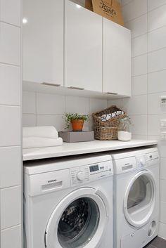 lavadero Laundry In Kitchen, Laundry Decor, Laundry Closet, Laundry Room Design, Ikea Laundry, Sofa Set Designs, Vintage Laundry, Small Room Bedroom, Home Office Decor