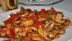 Mantarlı Tavuk Sote Tarifi   Mutfakta Yemek Tarifleri