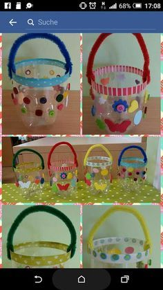 Most Fun and Easy Preschool Easter Crafts for Creative kids Plastic Bottle Crafts, Plastic Bottles, Recycled Bottles, Easter Crafts For Kids, Preschool Crafts, Recycled Crafts, Diy And Crafts, Boyfriend Crafts, Art N Craft