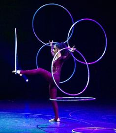 Circus Entertainer - Montreal, Canada - Sante Fortunato; SHE was an ENC graduate a couple of years ago. #enckidsneverdie