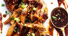 Slow Cooker Honey Garlic Chicken Slow Cooked In A Sweet & Spicy Asian Garlic Sauce