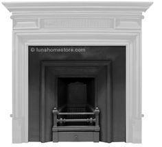 Royal Cast Iron Insert Narrow Opening (Black) Victorian design circa 1870 Narrow opening BLACK finish Suitable for gas or solid fuel option Flue type class 1 & 2 Online Sale Price: Cast Iron Fireplace Insert, Fireplace Inserts, Victorian Design, Type, Bedroom, Places, Home Decor, Decoration Home, Room Decor