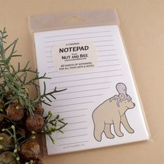Love their stationery.