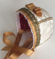 Christening bonnet for a boy