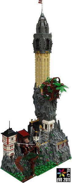 Victorian Fantasy Fortress #LEGO