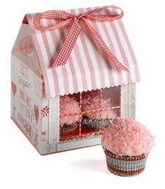 Decorative Cupcake Boxes 2 Cupcake Boxes  From Lakeland  Shine Sweet Tooth Universe