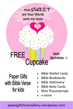 Bible Notes, Bible Verses, Bible Bookmark, Free Birthday, Free Bible, Free Paper, Kids Cards, Paper Gifts, Note Cards
