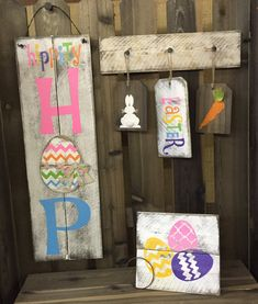 Hippity Hop Easter Bunny Handmade & Painted by Chotchkieville