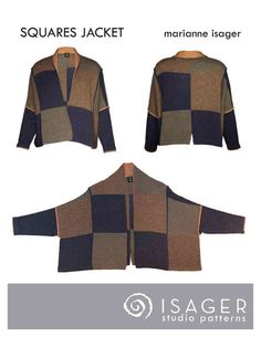 Squares Jacket Pattern Download