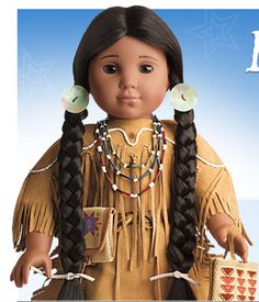 I've always loved the American Girl dolls, and I was thrilled to see that they finally introduced a doll of indigenous heritage. Thing Two is Cherokee and Blackfoot Indian, and I want her to be as proud of her heritage as I am.