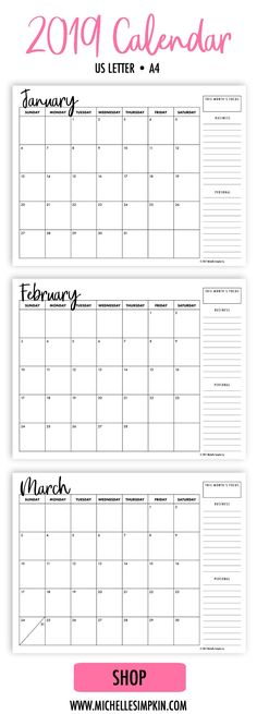 annual calendar 2018 portrait printable calendar 2017 2018 2019