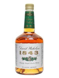 David Nicholson Bourbon | David Nicholson 1843 / 7 Year Old Kentucky Straight Bourbon Whiskey
