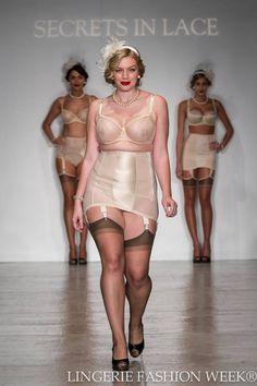 Photo credit Lingerie Fashion Week® @secretsinlace