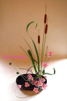 Beautiful, Ikebana and Overalls