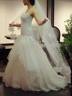 03-8800 KENNETHPOOL ケネスプール Bride Of Christ, Mermaid Wedding, One Shoulder Wedding Dress, Wedding Dresses, Fashion, Bride Dresses, Moda, Bridal Gowns, Fashion Styles