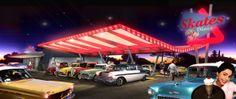 SKATES DINNER DRIVE IN   Los Ángeles, Estados Unidos   Proyecto: Arquitectos Luis Rocca, Carla Antón y Gabriela Carvallo   Documentación Ejecutiva: MARQ Arquitectura