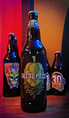 Fall to Pieces: A homebrew label designed by Reddit user Florixia for her boyfriend. Better than many commercially produced labels!