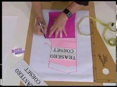 Moldería industrial: explica el delantero del corset