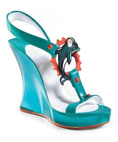 Miami Dolphins Shoe Decoration by Evergreen